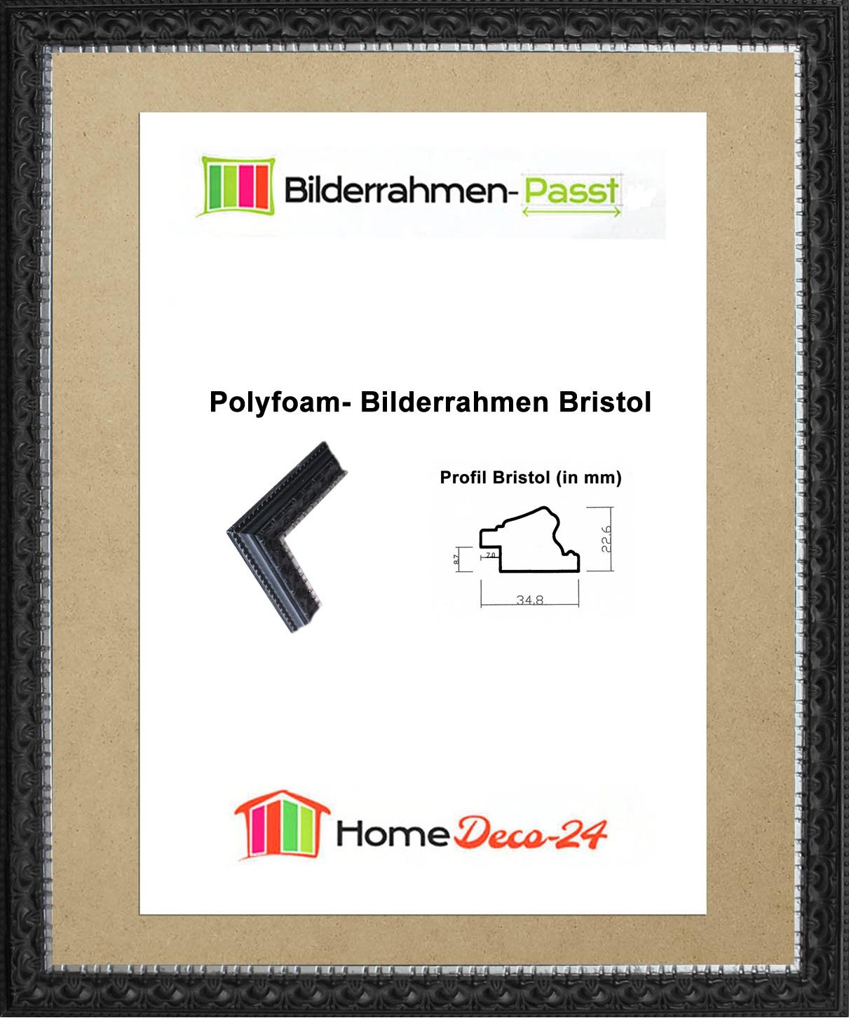 Bristol-Bilderrahmen-Barock-36-x-67-cm-Prunk-Pompoes-Farbwahl